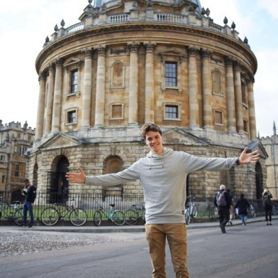 Paul-Mattias Reitsma in Oxford